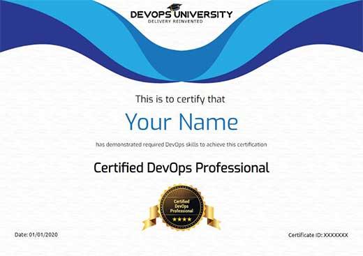 Certified DevOps Professional Certification