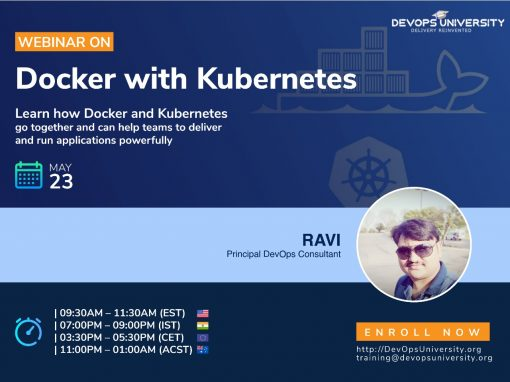 Webinar on Docker with Kubernetes