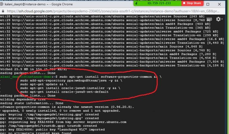 Run Commands Ubuntu VM Step 7