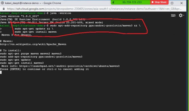 Run Commands Ubuntu VM Step 9
