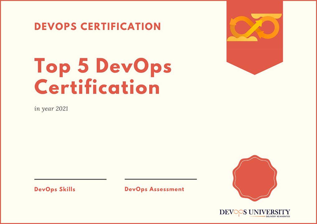 Best Certifications to learn DevOps