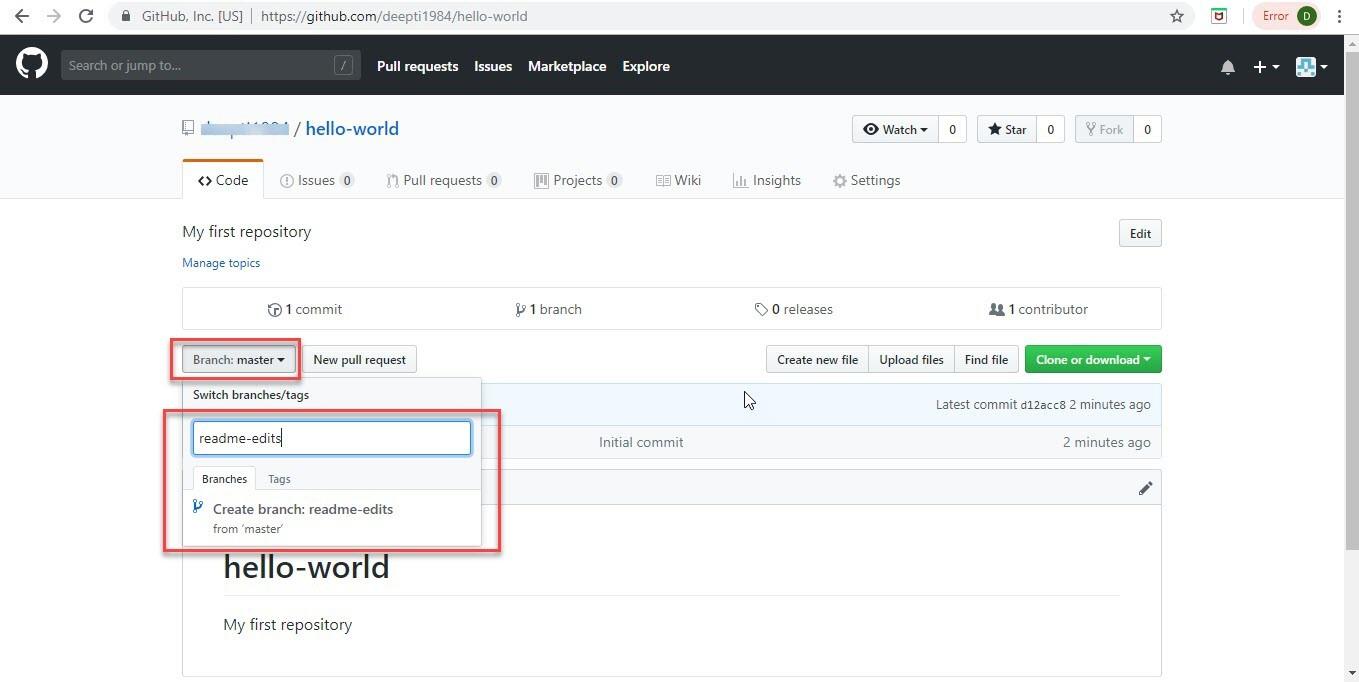 Create Account on GitHub Step-10