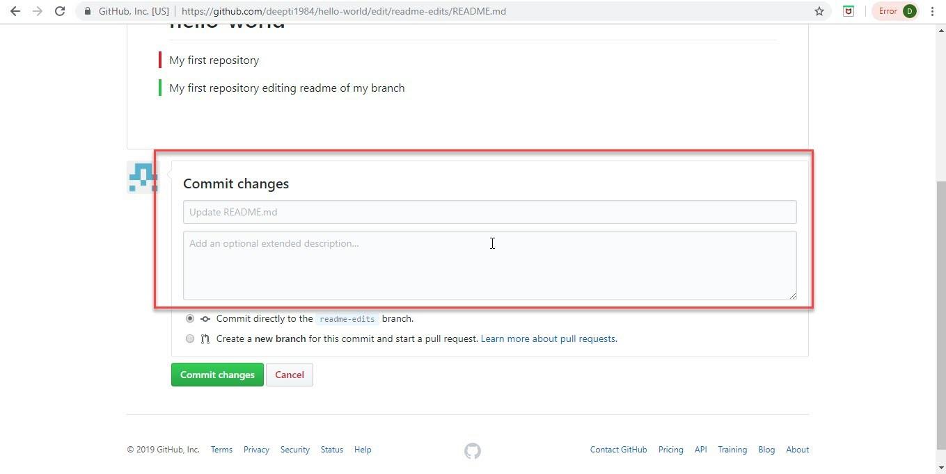 Create Account on GitHub Step-12