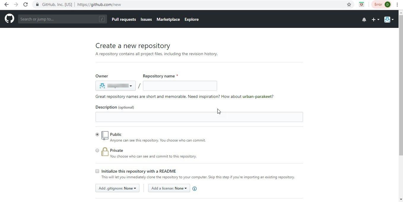 Create Account on GitHub Step-7