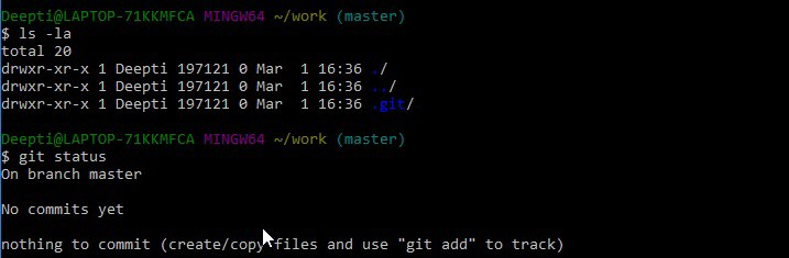 Git Bash Commands-1