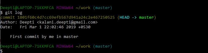 Git Bash Commands-7