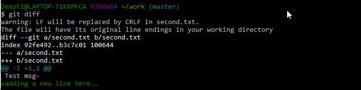 Git Bash Commands-9