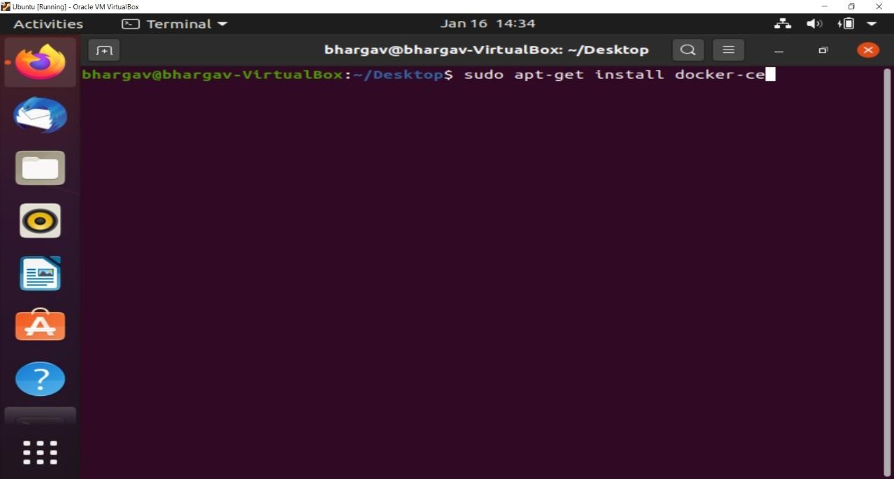 Docker Installation on Linux Step-4