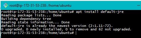 Java Installation on Ubuntu Step1