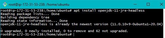 Java Installation on Ubuntu Step2