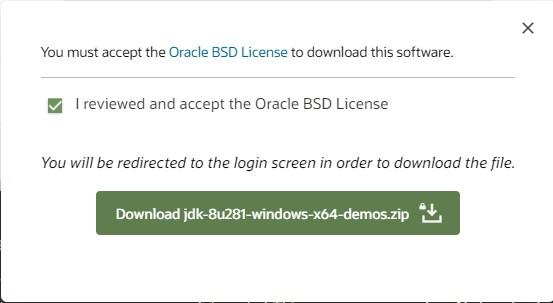 Java Installation Step3