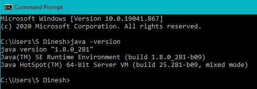 Java Installation Step7
