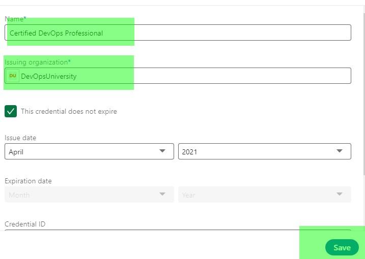 DevOps Certification Licenses Details