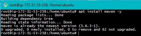 Maven Installation on Ubuntu Step2