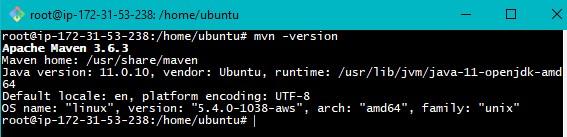 Maven Installation on Ubuntu Step3