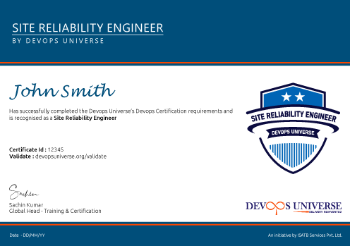 Site Reliability Engineer Foundation Course